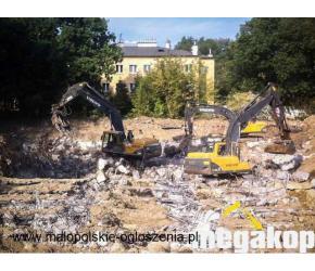 Usługi wyburzeniowe i rozbiórki - Megakop